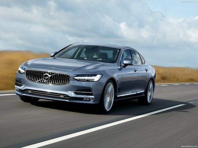 På andra plats hittar vi Volvo S90/V90.