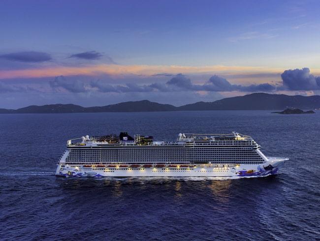 Norwegian Escape är ett av världens största kryssningsfartyg.