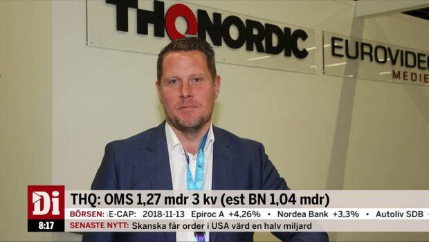 """THQ Nordics vd: """"En rad starka lanseringar driver intäkterna"""""""