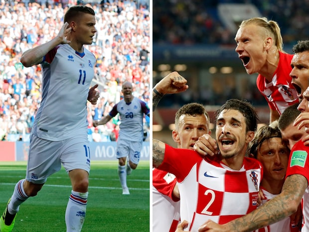 Se alla mål från fotbolls-VM i sportnyheterna - 16 juni