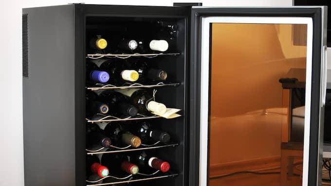 Krånglar vinkylaren kan du räkna med rotavdrag efter nyår om den måste repareras. Foto: Colourbox