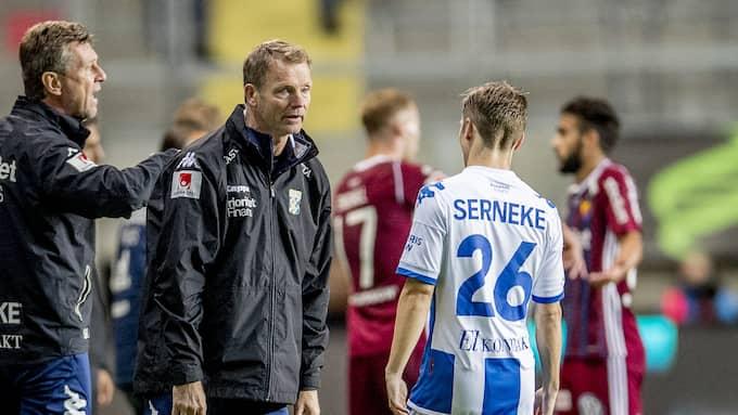 Torbjörn Nilsson har slitit av hälsenan. Foto: ADAM IHSE / TT