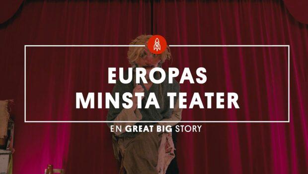 Här göms Europas minsta teater