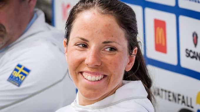 Charlotte Kalla. Foto: ANDERS WIKLUND/ TT NYHETSBYRÅN