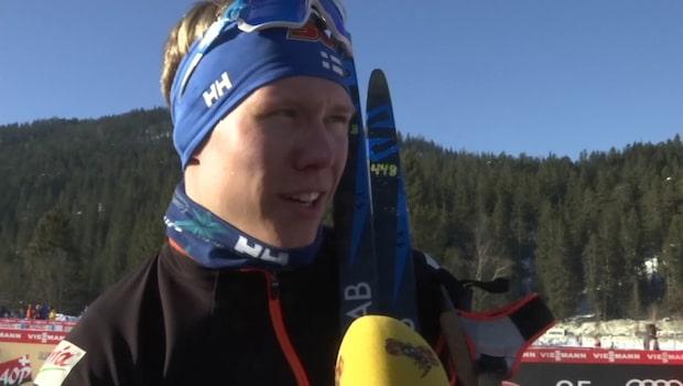 """Finländaren om tecknet: """"Ville skrämas"""""""