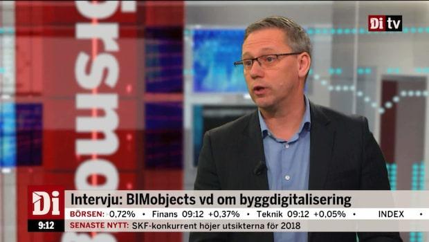 """BIMobjects vd: """"Vi tittar bara på tillväxt"""""""
