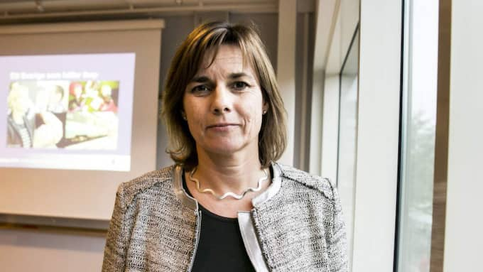 """Biståndsminister. """"Isabella Lövin (MP) uttrycker en sund skepsis mot biståndets förmåga att göra skillnad för världens fattiga,"""" skriver Fredrik Segerfeldt. Foto: Lennart Rehnman"""