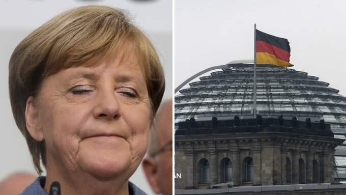 Angela Merkel riskerar att leda en regering som inte förmår att fatta tuffa beslut. Foto: MICHAEL SCHREIBER & MICHAEL PROBST /AP TT