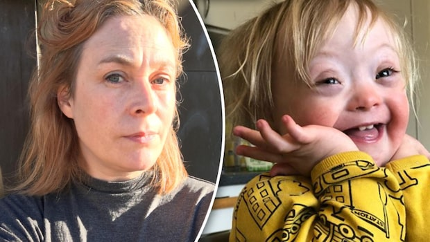 Lina, 43, vill se en attitydförändring kring barn med Downs syndrom