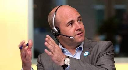 De vikande siffrorna inför söndagens EU-val får Fredrik Reinfeldt att agera. Foto: Tommy Pedersen