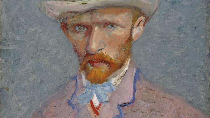 Självporträtt av Vincent van Gogh. Foto: AP