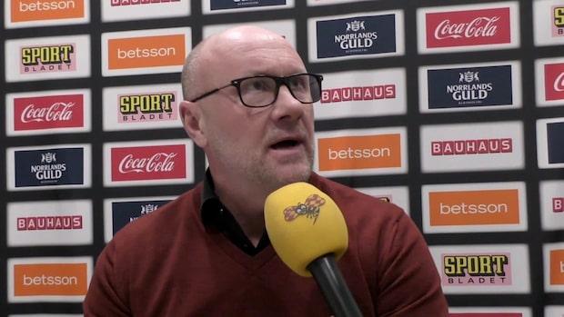"""Malmötränaren besviken: """"Det håller inte"""""""