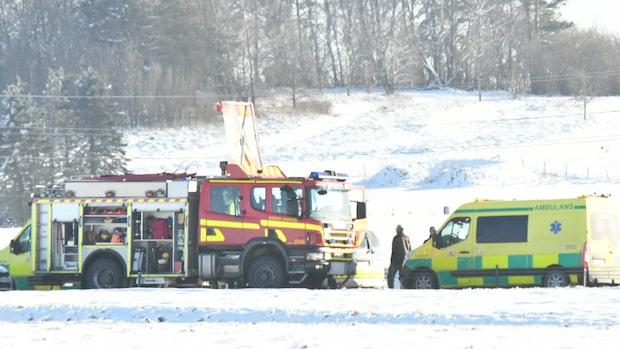 Flera barn inblandade i olycka