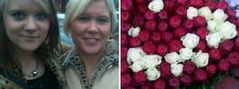 Döda dotterns blommor försvann  från graven – hittades på babyshower