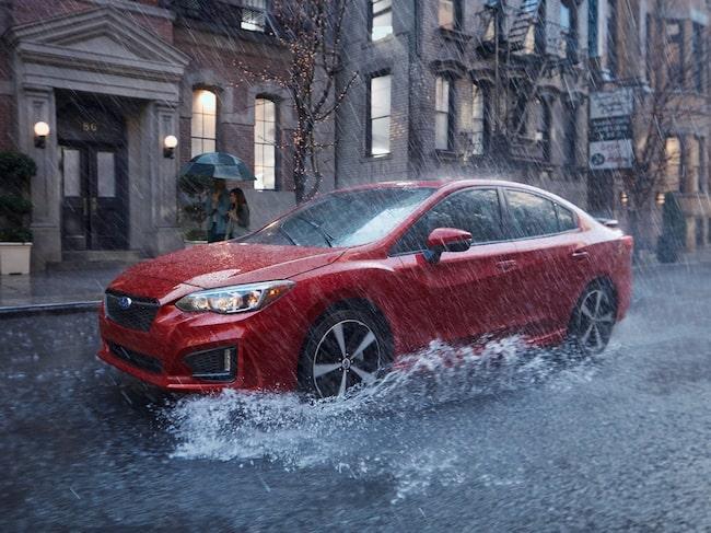 Subaru Impreza har hjälpt till att hålla kunderna kvar.
