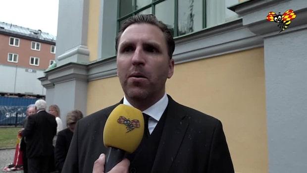 """Nils-Eric Johansson: """"Kommer minnas honom som en fantastisk ledare"""""""