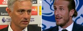 """Mourinhos utspel:  """"En tydlig känga"""""""
