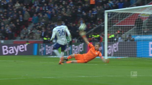 Höjdpunkter: Bayer Leverkusen-Schalke