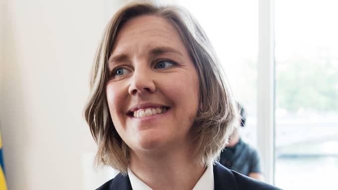 Miljöminister Karolina Skog (MP). Foto: OLLE SPORRONG
