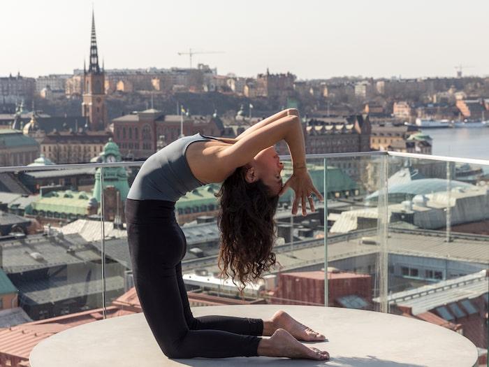 På Tak kan du yoga på dagen...