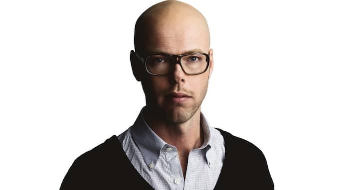 Expressens Andreas Nunstedt. Foto: / OKÄND