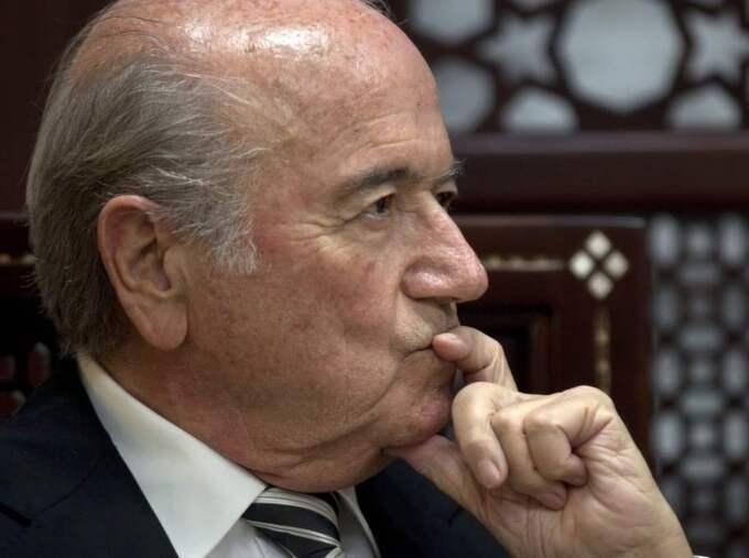 Sepp Blatter.